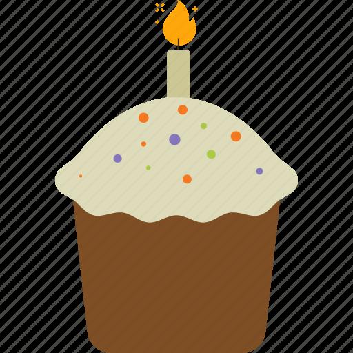 cake, cupcake, easter, food, muffin, sweet icon