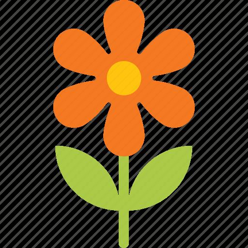 Easter, flower, garden, orange, plant, spring icon - Download on Iconfinder