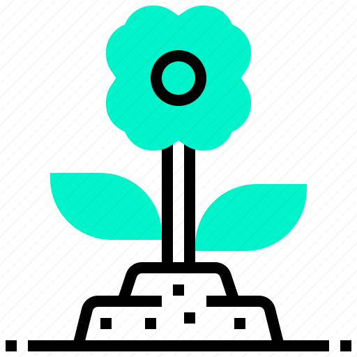 easter, flower, nature, plant icon