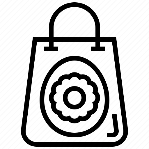 bag, celebration, easter, egg icon
