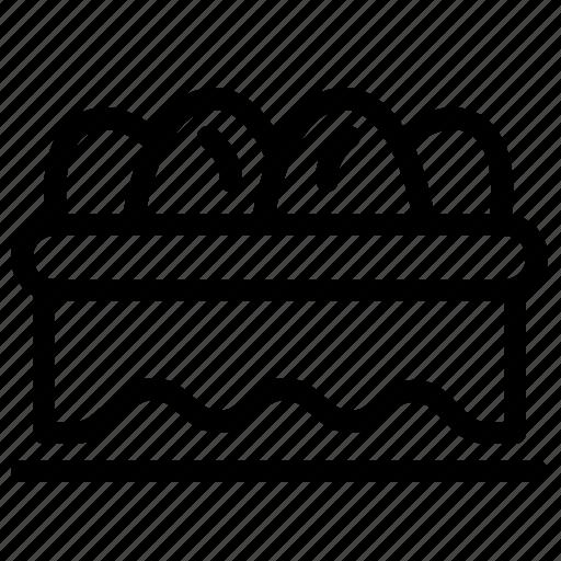Basket, easter, egg icon - Download on Iconfinder