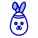 bunny, easter, robbit icon