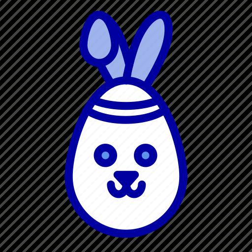 bunny, easter, robbit icon