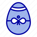 bird, decoration, easter, egg, gift icon