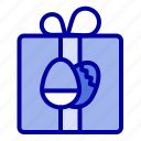 birthday, box, easter, gift icon