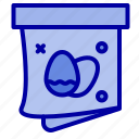 easter, egg, gift, holiday icon