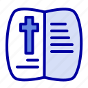 book, easter, nature, open icon