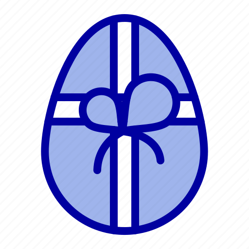 birthday, easter, gift icon