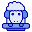 easter, lamb, sheep, spring icon
