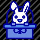 bascket, cart, easter, holiday icon