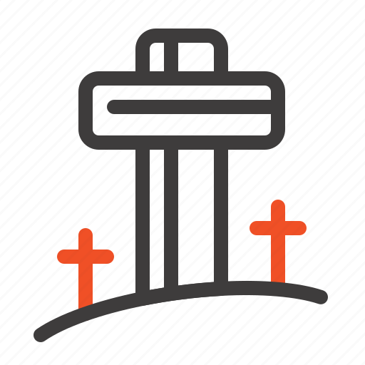 celebration, christian, cross, easter icon