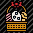 easter, egg, basket, cultures, decoration