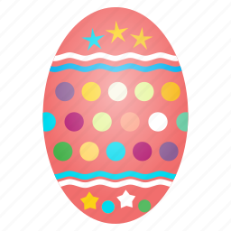 celebrate, celebration, decorated, decoration, easter, egg, festival icon
