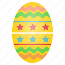 celebrate, decorated, decoration, easter, egg, festival, food icon