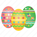 celebrate, celebration, decorated, decoration, easter, eggs, festival icon