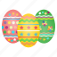celebrate, celebration, decorated, decoration, easter, eggs, festival icon