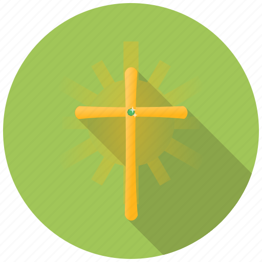 christian, christianity, church, cross, easter, holy, religion icon