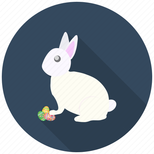 bunny, celebrate, decoration, easter, eggs, festival, rabbit icon