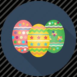 celebrate, celebration, decoration, easter, egg, eggs, festival icon
