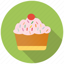 cupcake, dessert, easter, festival, muffin, sweet, treat icon