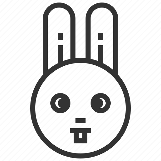 bunny, easter, pet, rabbit icon