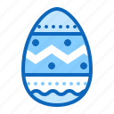 easter, egg, food, hunt, painted icon