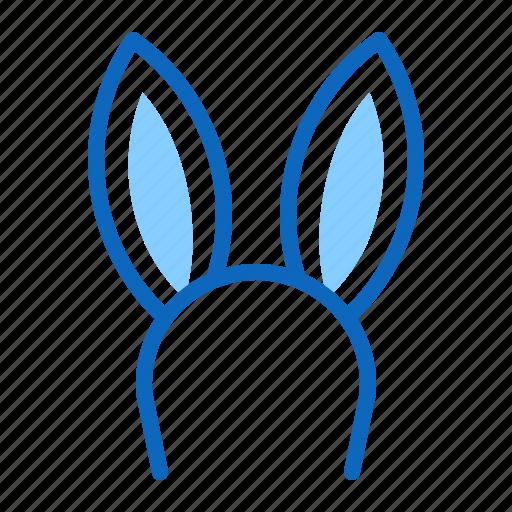 bunny, ears, easter, rabbit icon