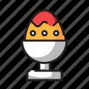 easter, egg, spring, celebration, festival, boiled, cup