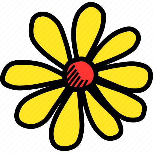 chamomile, easter, floral, flower, nature, spring icon