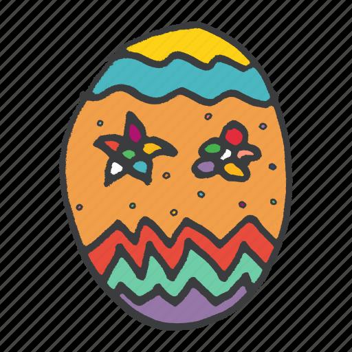 celebrate, celebration, decoration, easter, egg, festival, food icon