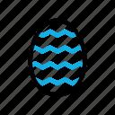 easter, egg, rabbit