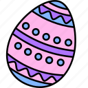 easter, egg, colorful, art, paint
