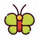 animal, butterfly, easter, egg, happy easter, holidays, spring season icon