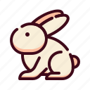 bunny, easter, egg, happy easter, holidays, rabbit, spring season icon