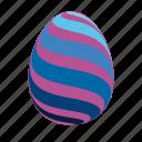 blue, easter, easter egg, easter eggs, egg, violet icon