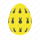 easter, easter egg, easter eggs, egg, yellow icon