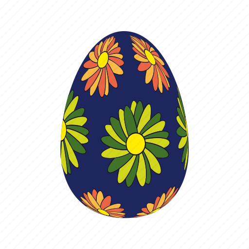 decorative, easter, easter eggs, egg, eggs, food icon
