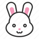bunny, celebration, easter, holiday, rabbit icon