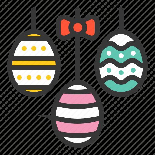 celebration, decoration, easter, egg, hanging, hanging mobile, holiday icon