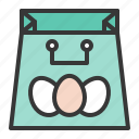 bag, celebration, easter, holiday, shopping, shopping bag icon