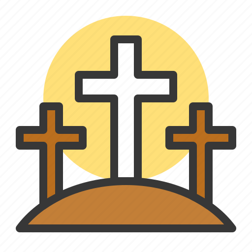 celebration, chirst, cross, easter, grave, holiday, jesus icon