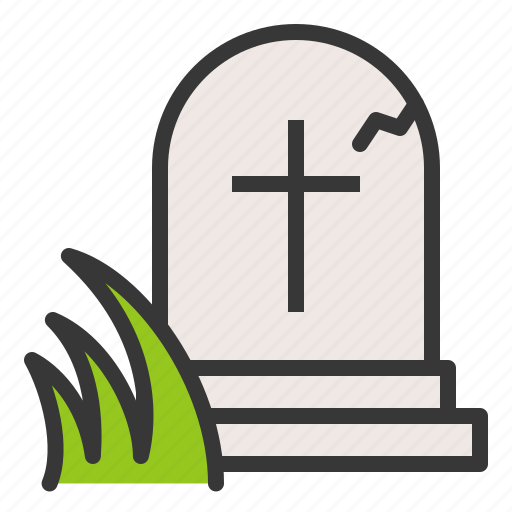 celebration, cross, death, easter, grave, holiday icon