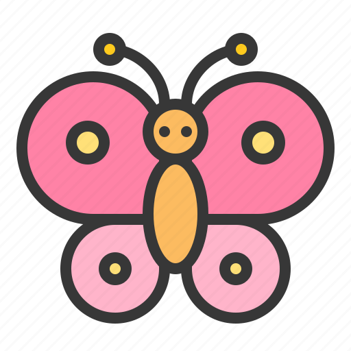 butterfly, celebration, easter, holiday, insect icon