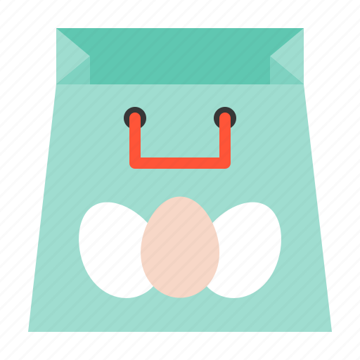 Celebration, easter, holiday, shopping bag icon - Download on Iconfinder