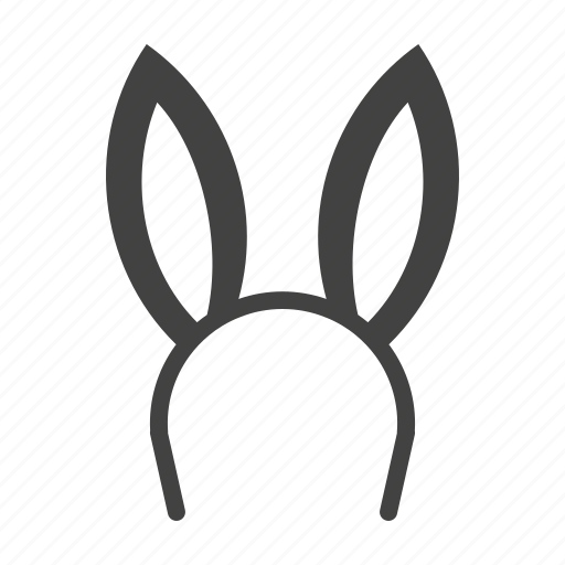 Bunny Ears Easter Rabbit Icon Download On Iconfinder