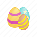 celebration, easter, egg, holiday, isometric, season, spring icon