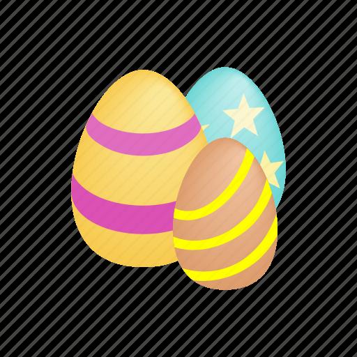 celebration, easter, egg, holiday, isometric, season, spring icon
