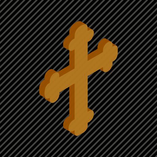 christ, christian, christianity, cross, easter, isometric, jesus icon