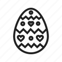 celebration, decoration happy, easter, egg, greeting, happy egg roll icon