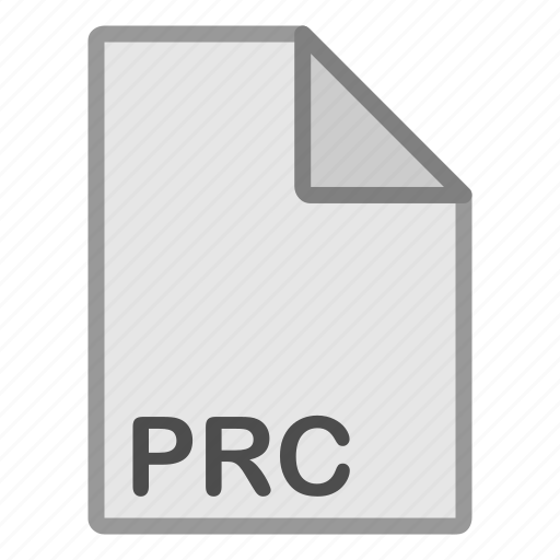 ebook, extension, file, format, hovytech, prc, type icon